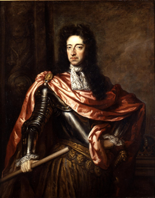 Gugliemo III d'Orange, in olandese Willem Hendrik van Oranje-Nassau, anche noto come Guglielmo III d'Inghilterra, Guglielmo II di Scozia e Guglielmo I d'Irlanda, fu Principe d'Orange, Conte di Nassau ..