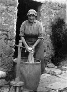 Vecchia lavandaia