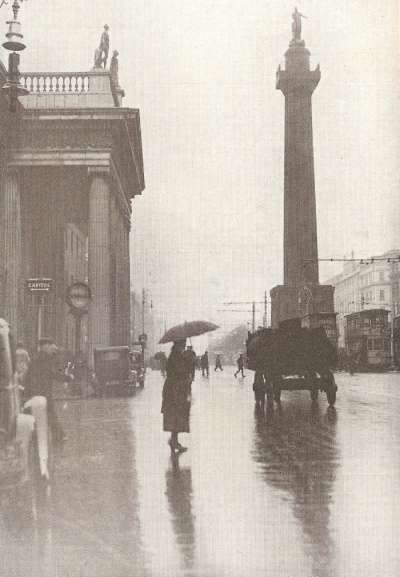 Nelson's column on O'Connell Street, Dublin