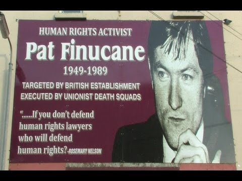 Pat Finucane Irish human rights lawyer assassinated by British state-sponsored terrorists